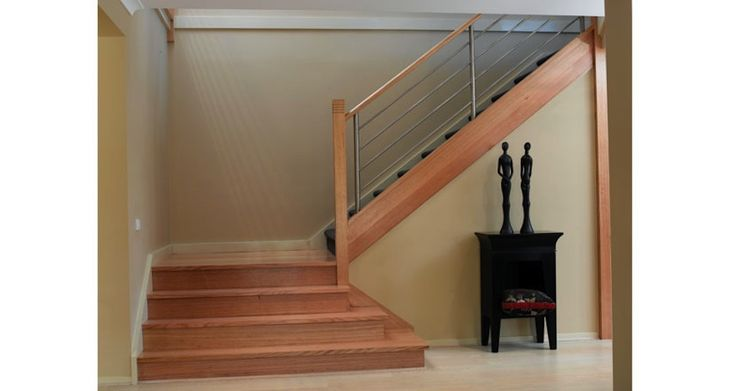 These are our favourite stairs except we want wood not carpet