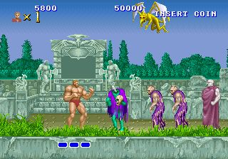 Altered Beast - Sega Mega Drive  (1988) I can still remember the music from this fantastic game.