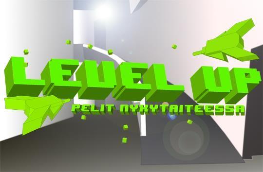 """Kiasman peliaiheinen näyttely sai nimekseen """"Level up - Pelit nykytaiteessa""""."""