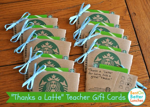 Thanks a Latte teacher gift card holders . These were fun & simple to make! Could do a sprig of holly & red ribbon for Christmas