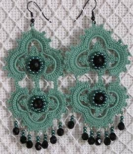 Could crochet over metal or plastic to keep shape better