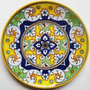 Italy - Deruta Plates - Melbourne Rugs Clearance Centre - Persian and Modern Carpets & Fabrics