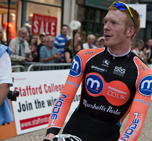 Ed Clancy, winner of the Stafford Grand Prix | Flickr - Photo Sharing!