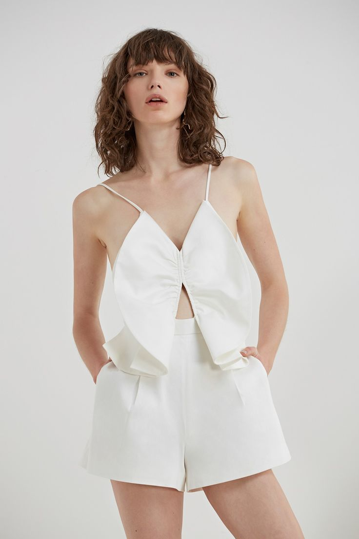 C/MEO COLLECTIVE LITTLE WORLD PLAYSUIT