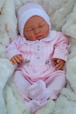 STUNNING REBORN LIFELIKE BABY GIRL SPANISH OUTFIT FULL LIMBS 022