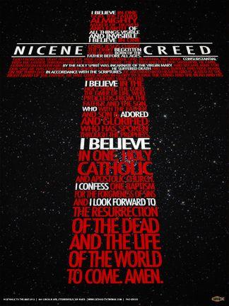 New Nicene Creed Poster