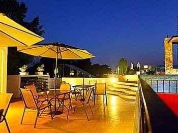 La Aurora Hotel Colonial, Valladolid, Outdoor Dining