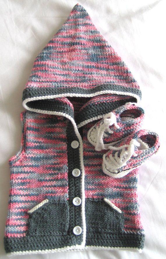Converse Knitted Booties Pattern : Crochet Converse Pinterestte Tig Isleri, Tig Isi Bebek ve Bebek Patik ...