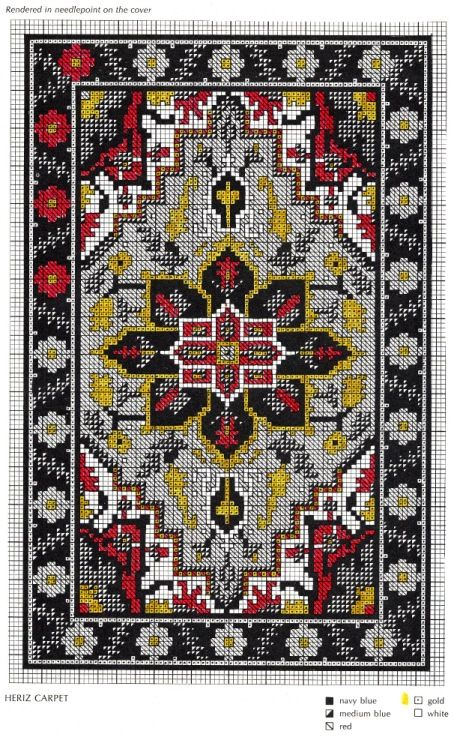Gallery.ru / Фото #8 - Miniature Needlepoint Rugs for Dollhouses - tymannost