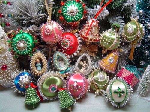1000+ Images About Vintage Ornaments On Pinterest