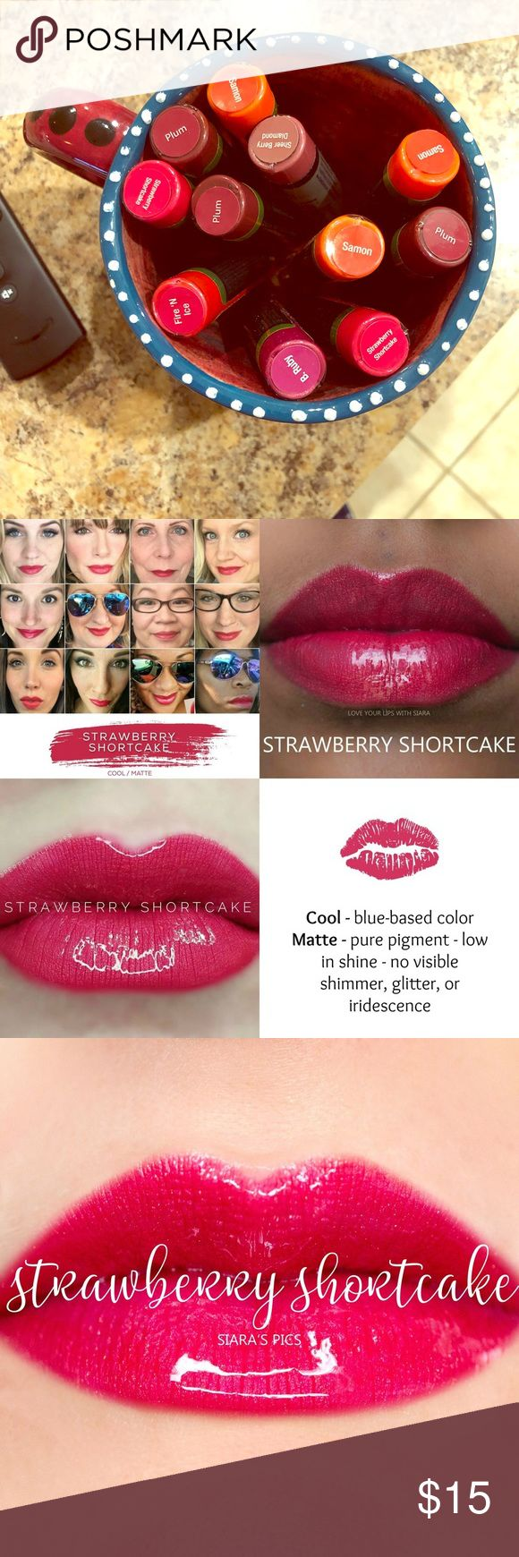 Lipsense 👄 Lip coloration Strawberry 🍓 Shortcake LipSense New by no means opened Stra…