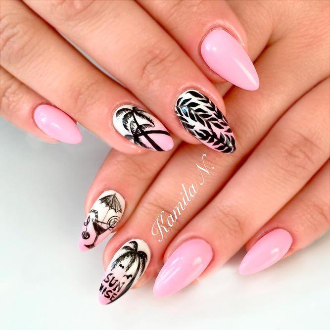 25+ Best Tropical Nail Art Ideas On Pinterest