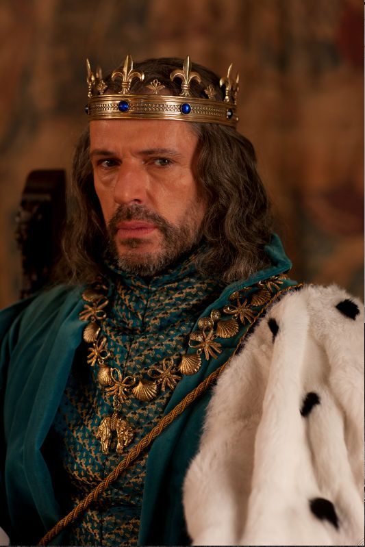 King Demetri, Titan and Pierre's father and Minerva's father-in-law.