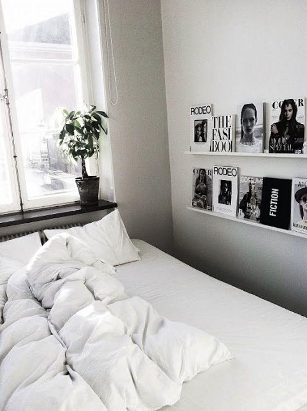 Heb je een kleine slaapkamer en zoek je inspiratie om de kleine ruimte efficiënt in te richten? Klik dan hier voor inspiratie! #small #bedroom