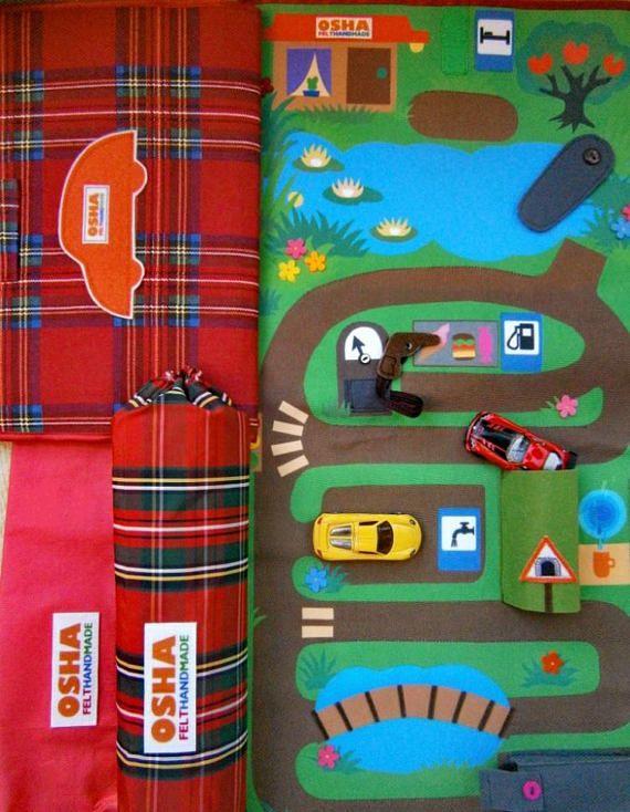 felt and fabric car play mat for kids https://www.etsy.com/listing/542673294/car-play-mat-fabric-car-play-mat-kids #oshafelthandmade #sensorytoy #sensoryquietbook #texturesoftbook #texturefeltbook #busybook #quietbook #развивающиедетскиекнижки #книгиизфетра #развивашки #книгиназаказ #подарокнагодик #toddlerquietbook #toddlerfeltbook #firstbook #firstbabybook #перваякнижка #мелкаямоторика #раннееразвитие #etsyfeltbooks #carplaymat #carfeltplaymat #feltcarplaymatkids
