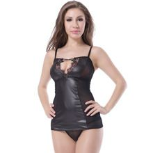 Wholesale lace design short sexy leather lingerie   Best Buy follow this link http://shopingayo.space