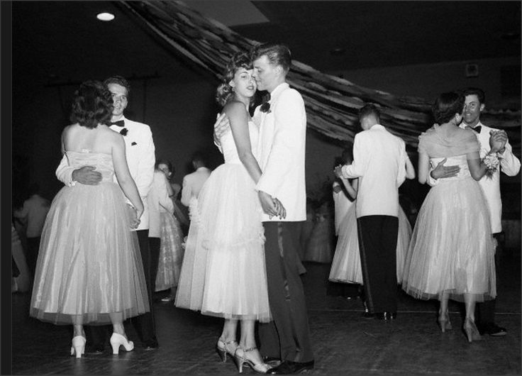 Senior Prom at Anacosta High School, 1953