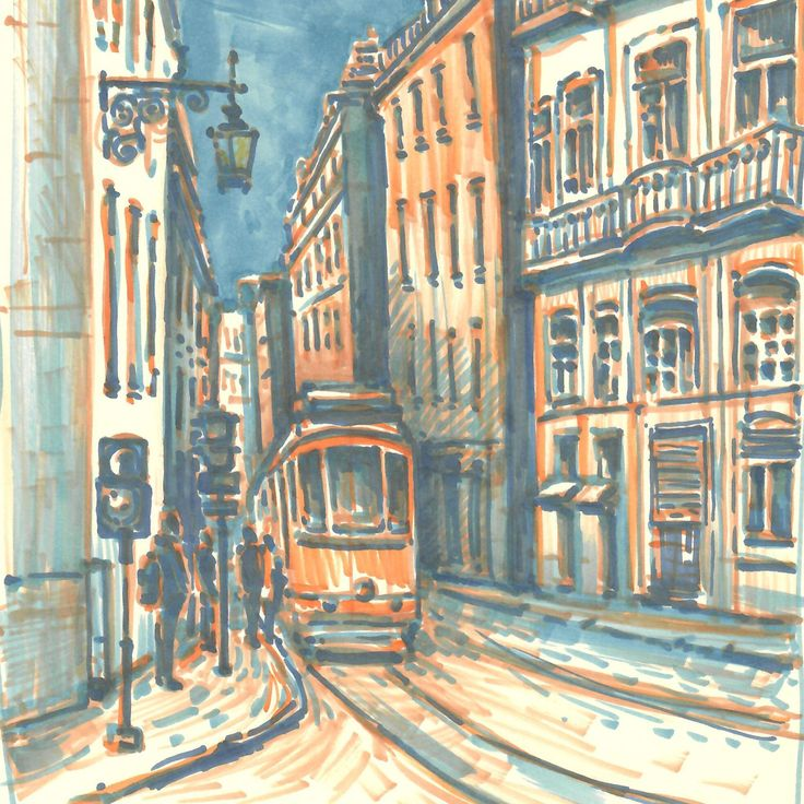 Piece of Lisbon from last year's trip. Who doesn't like Lisbon :)