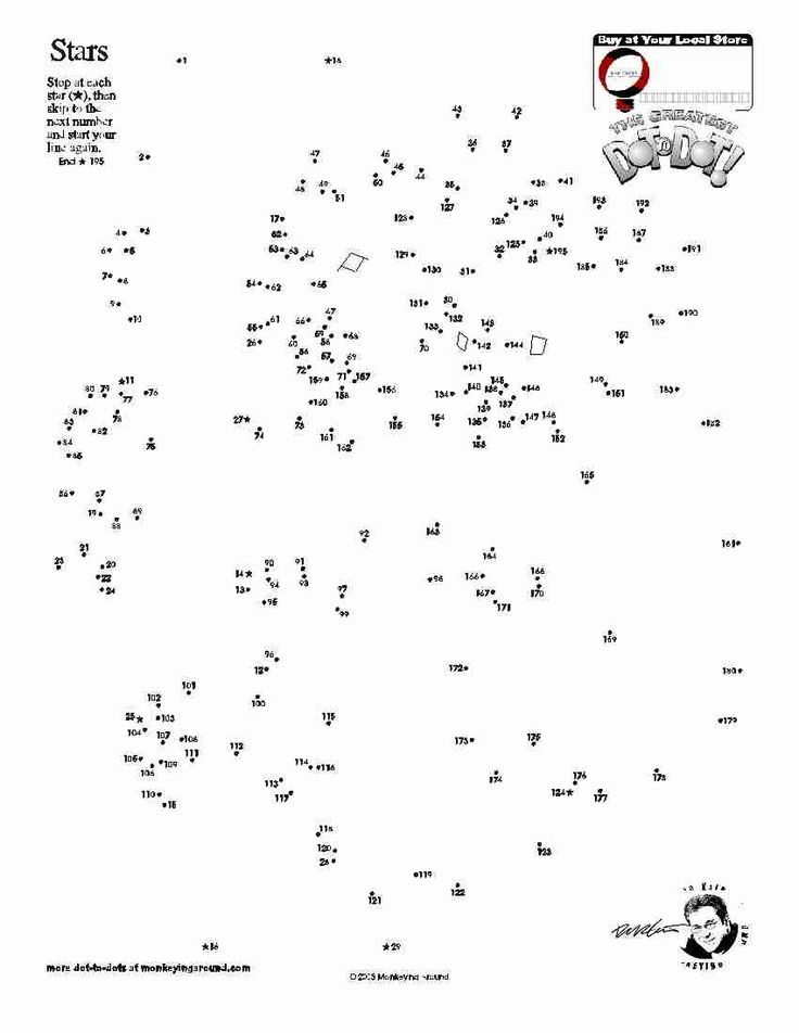 Downloadable Dot-to-Dot Puzzles
