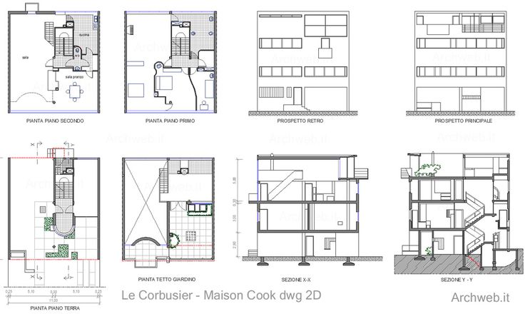 Maison Cook - Image from http://www.archweb.it/dwg/arch_arredi_famosi/Le_corbusier/maison_cook/aw_maison_cook_dwg.jpg.