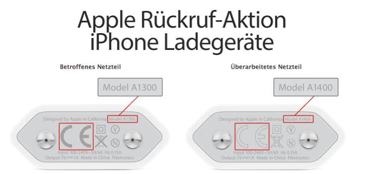 Wichtig: Apple Rückruf iPhone Netzteile / Akku-Ladegeräte! - http://apfeleimer.de/2014/06/wichtig-apple-rueckruf-iphone-netzteile-akku-ladegeraete - Brennende iPhones und Ladegeräte sind immer für eine Breaking News Meldung gut. Apple ruft aktuell eine bestimmte Charge an 5V iPhone Ladegeräten zurück, die entweder einemiPhone 3GS, iPhone 4undiPhone 4s(vonOktober 2009 und September 2012) oderseparat nachgekauft wurden. Für die Ladegeräte...