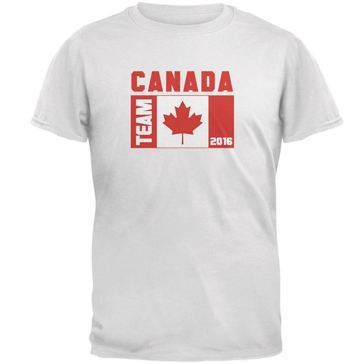 Summer Olympics Team Canada Mens T Shirt