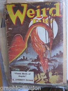 Pulp: Weird Tales   http://graphic-illusion.com