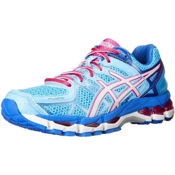 ASICS Women's GEL-Kayano 21 Running Shoe ($110) via Polyvore featuring shoes ,