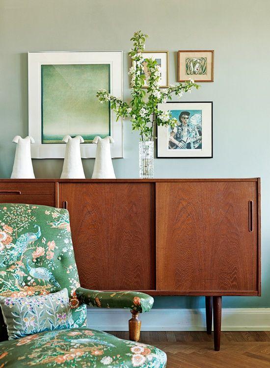 dustjacket attic: Mint Green | Interiors | Florals