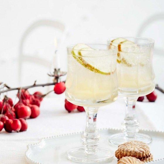ESSEN & TRINKEN - Holunder-Fizz mit Apfel Rezept