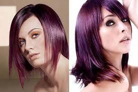 cabello violeta