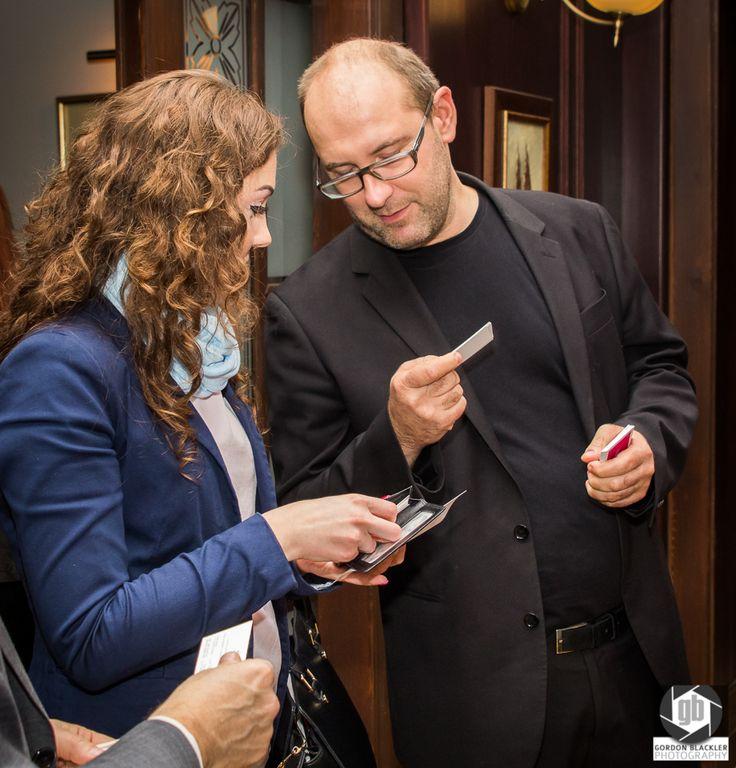 Networking! Do tego służą spotkania przedsiębiorców:) photo by Gordon Blackler Photography http://on.fb.me/1zawQys