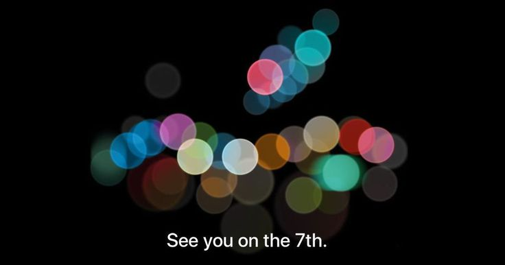 At least now we know when Apple will announce the iPhone 7.