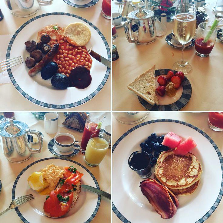 Breakfast at Gleneagles