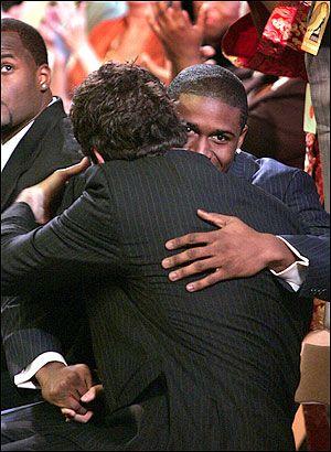 The Mechanics of the Man Hug