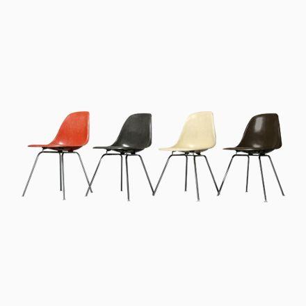 Vintage Glasfaser Beistellstühle von Charles & Ray Eames für Vitra, 19... Jetzt bestellen unter: https://moebel.ladendirekt.de/kueche-und-esszimmer/stuehle-und-hocker/esszimmerstuehle/?uid=78952086-6fe6-5d43-a8e5-277a215c1474&utm_source=pinterest&utm_medium=pin&utm_campaign=boards #kueche #sets #esszimmerstuehle #esszimmer #hocker #stuehle
