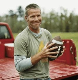 Brett Favre <3 Ugh those Wrangler commercials.