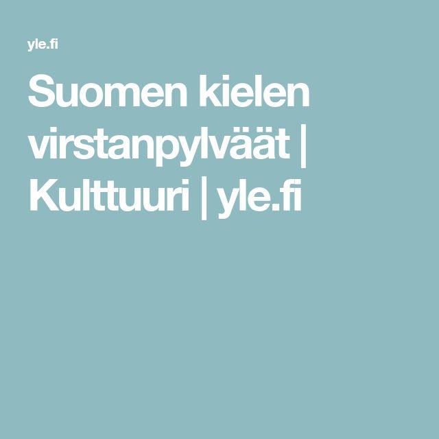 Suomen kielen virstanpylväät | Kulttuuri | yle.fi