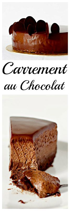 Carrement au Chocolat - after a recipe by Pierre Herme