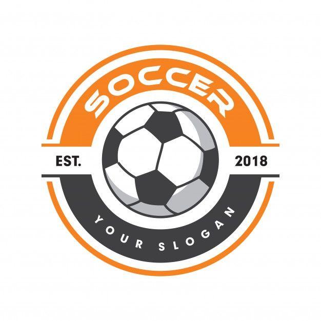 Soccer Logo Sport Logo Football Logo P Premium Vector Freepik Vector Logo Banner Ribbon Label In 2020 Football Logo Design Soccer Logo Football Logo