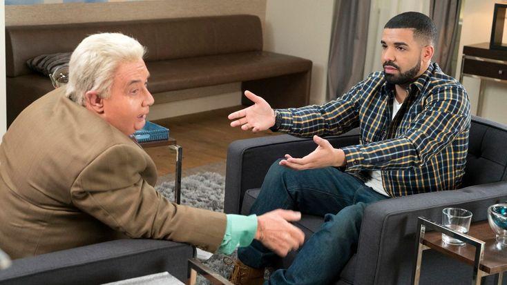 See Martin Short Reprise 'Jiminy Glick' in Absurd Drake Interview #headphones #music #headphones