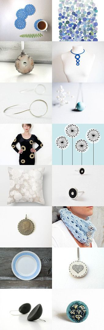 Circles by Imma on Etsy--Pinned with TreasuryPin.com