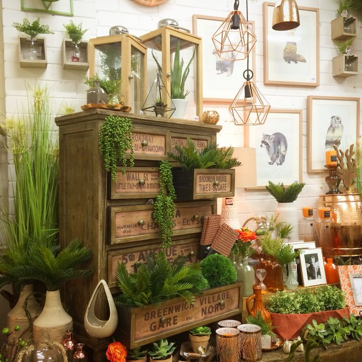 Orange And Copper Shop Display. Home Decor, Interiors, Creative Visual  Merchandising At Our