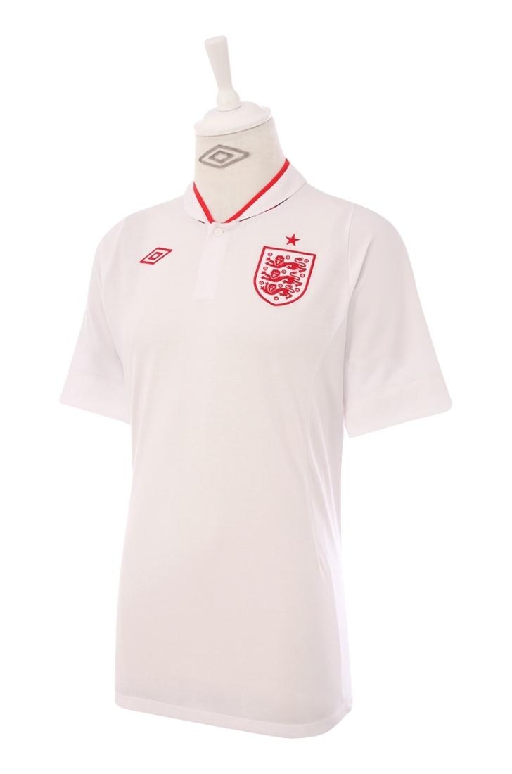 Umbro England Home 2012 Men's SS Shirt