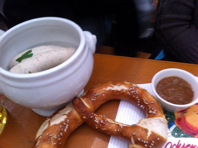 Oktoberfest Tips: Eat at Spaten