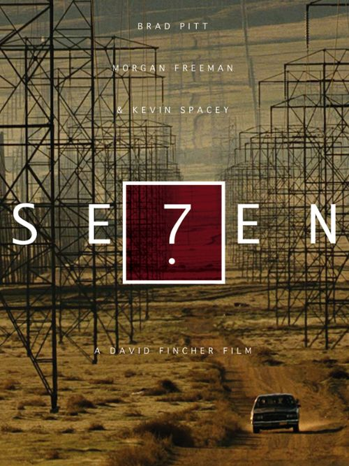 Seven (1995) Morgan Freeman, Brad Pitt, Kevin Spacey. Taut well acted flick. If squeamish don't watch it.