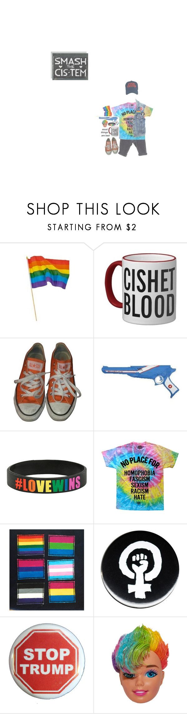 """""""television dreams of tomorrow {🌈}"""" by cottoncandyprince ❤ liked on Polyvore featuring Levi's, Converse and Trump Home"""