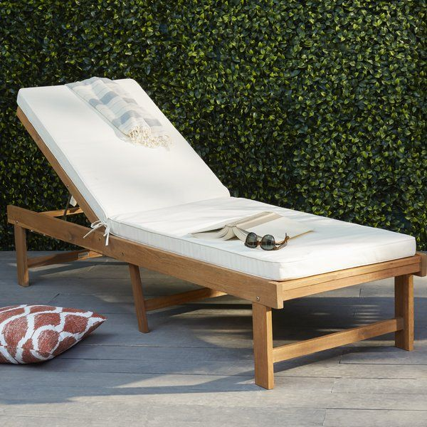 Matheny Reclining Chaise Lounge With
