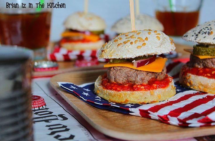 Classic Baby-Burgers à l'Apéritif