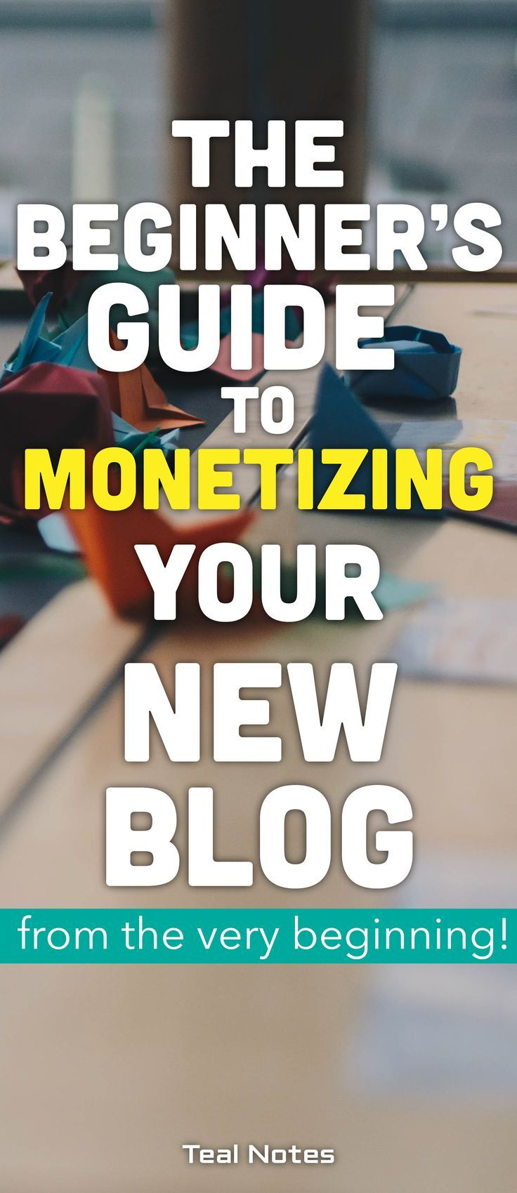 Making money blogging while doing what you love isn't a pipe dream. It's legit and it's attainable. Check out everything you need to know as a beginner blogging to learn about ideas and ways to get started making extra cash and make passive income a reality, which can be as soon as your first month! Affiliate Marketing | Passive Income | Email Marketing | Teal Notes